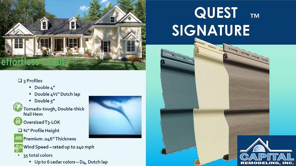 Quest Siding Sales Amp Installation Services Md Dc Va Ga