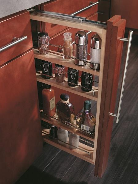 modern kitchen cabinets offer unique storage solutions capital remodeling. Black Bedroom Furniture Sets. Home Design Ideas