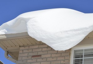 how much snow can your roof hold?